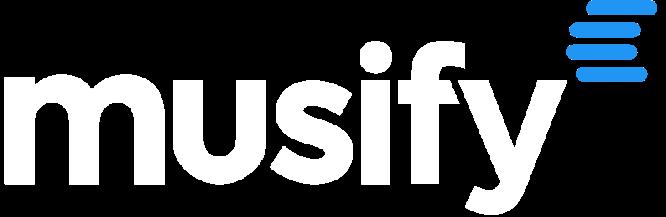 Musify Logo Bianco